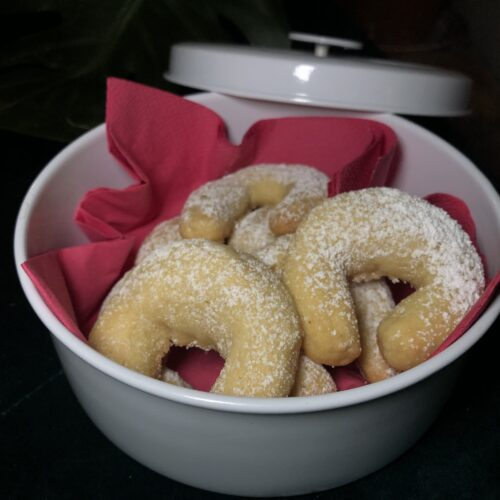 Austrian Christmas Magic: Vanillekipferl Cookies | Recipe